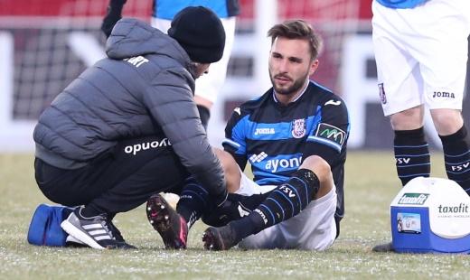 Später Ausgleich: Fabian Schleusener trifft für den FSV Frankfurt ©  imago/Eibner